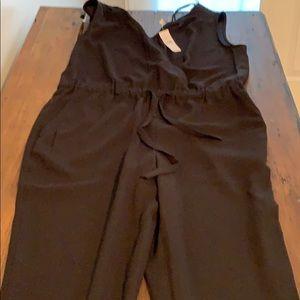 Women's Black Pants jumpsuit
